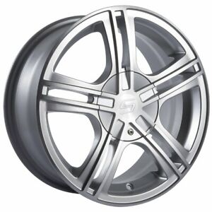Sacchi S62 262 Hypersilver Wheel With Machined Face 262 8709s 18x7 5 27