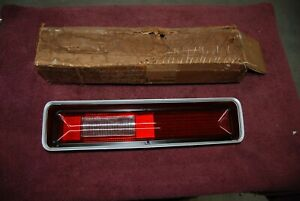 1972 Plymouth Fury I Ii Right Tail Light Lense Nos Original All Except Wagon
