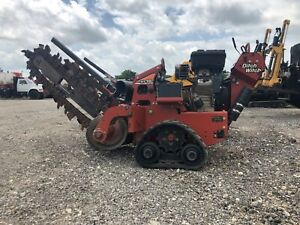 14 Ditch Witch Rt16 Walk Behind Trencher Miles Equipment Sales