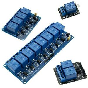 5v 1 2 4 8 16 Channel Board Module Relay Switch For Arduino Raspberry Arm Dsp