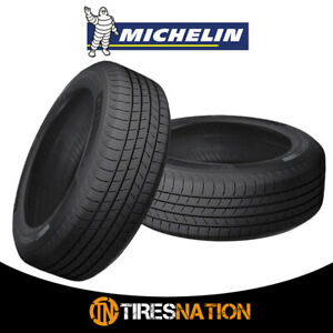 2 New Michelin Defender T H Mtp 195 65 15 91h Standard Touring All Season Tire