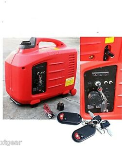 2700w Digital Inverter Rv Gas Generator W recoil Remote Battery Start Epa
