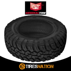 1 New General Grabber X3 35 12 5 R17 121q Off Road Max Traction Tire