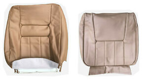 Front Seat Cover Upholstery For Volvo 940 960 Sedan Wagon Tan Leather 1991 1995