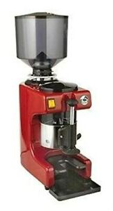 La Pavoni Zip r Commercial Coffee Grinder Large 2 2 Pounds Built in 58mm Tamp
