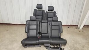 2019 Jeep Grand Cherokee Summit Seats Front Rear Left Right Black Leather Oem