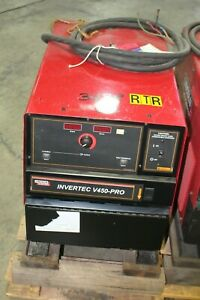 Lincoln Invertec V450 pro Weld Pac Multi process Welder