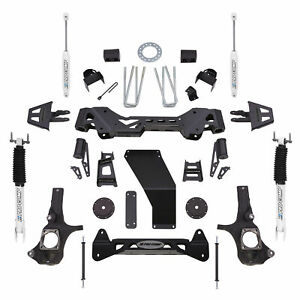 Pro Comp Block Kit 6 In Fits 2011 2016 Chevrolet Silverado 3500 Hd Expk1087b