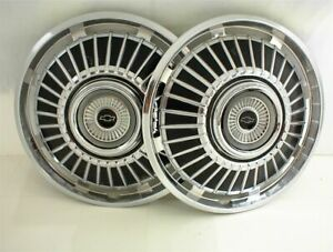 1964 Chevrolet Chevelle Hubcaps Wheel Covers 14 El Camino