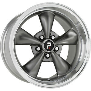 4 18x10 Gray Wheel Oe Performance 106 Mustang Bullet Replica 5x4 5