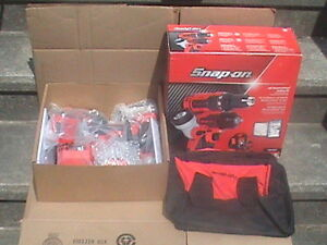 Snap On 18 Volt Monster Lithium Cordless Tool Kit 3 8 1 2 Drive Ck8810dilx