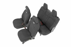 Rough Country Neoprene Seat Covers Fits 2018 2020 Jeep Wrangler Jl 2dr Set