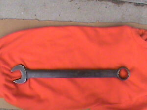 Snap on 1 5 8 Industrial Sae 12 point Flank Drive Combination Wrench Goex52b