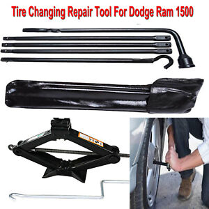 Spare Tire Kits Tools For 2014 Dodge Ram 1500 Changing Repair Tools Scissor Jack