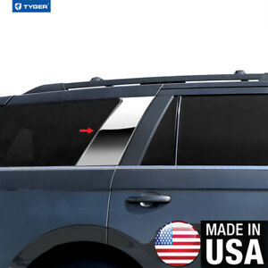 Chrome Accessories Pillar Post Trim Fit 18 20 Ford Expedition 2p