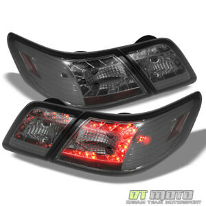For Smoke 2007 2009 Toyota Camry Lumileds Led Tail Lights Brake Lamps Left right