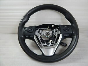 2016 Toyota Corolla Steering Wheel W Cruise Radio Controls Oem