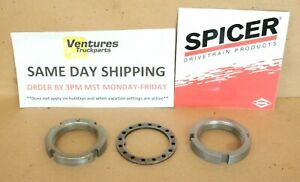 Front Axle Spindle Nut Kit Dana 44 Ford Bronco F100 F150 F250 73 92