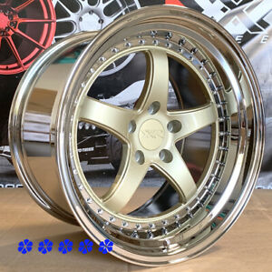 Xxr 565 Wheels 18 X8 5 10 5 20 Gold Staggered 5x4 5 94 98 99 04 Ford Mustang Gt
