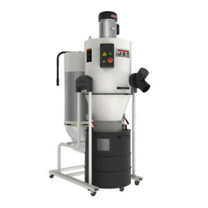 Jet 717520 Jcdc 2 Cyclone Dust Collector 2hp 230v