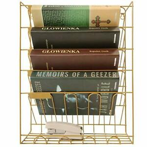 File Rack Hanging Wall File Organizer Metal Mesh Wall Magazine Rack File Wall Ho