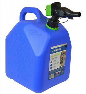 Smart Control 5 Gal Kerosene Can Controllable Flow Rate W Integrated Air Vent