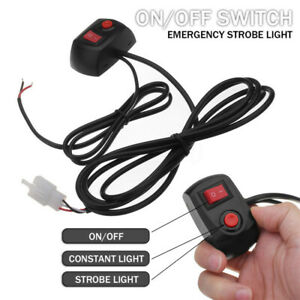 On Off Switch Line For Hid Led Bulbs Warning Roof Emergency Strobe Lights C