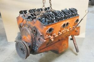 1955 Chevrolet Corvette 265 Engine 3703524 No Filter Block fr