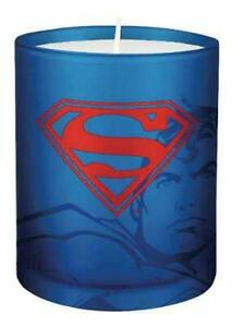 Dc Comics: Superman Glass Votive Candle by Insight Editions (English) Free Shipp