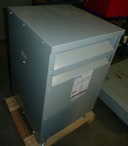New Eaton 30 Kva Transformer 480 480y 477 Cat V48m47t3016 3 Phase Dt 3
