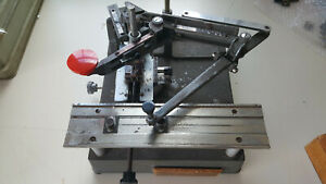 New Hermes Gm Engraving Machine With Type