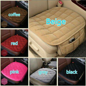 Universal 3d Car Seat Cover Breathable Plush Pad Mat For Auto Chair Cushion Us