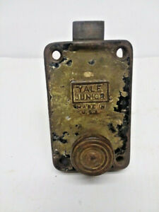 Yale Junior Deadbolt Vintage Hardware