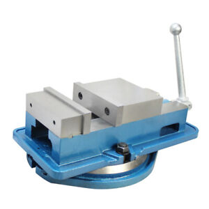 4 Ang lock Milling Machine Precision Vise W Swivel Base Drilling Bench Clamp