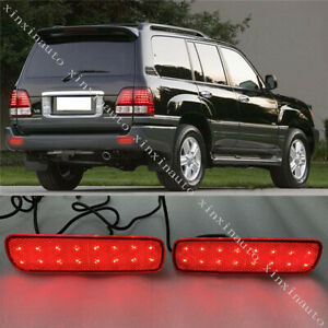 Led Rear Bumper Fog Lamp Light For Toyota Land Cruiser 4500 4700 lc100 1998 2007