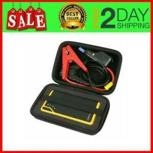Hard Case Portable Car Jump Starter Protect Power Bank Charger Battery Booster