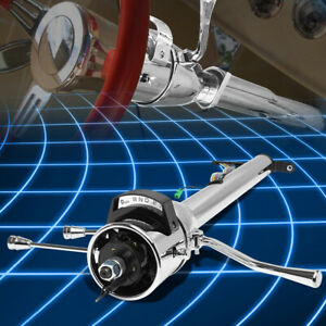 For 55 59 Chevy Gm Steering Column Shifter Hot Rod 28 Long Tilt Automatic Style