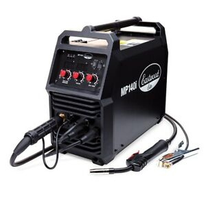 Eastwood Elite Mp140i Multi Process Welder Mig Tig Stick Duty Metal Drive Motor