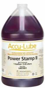 Accu lube Accu lube Power Stamp Ii 1 Gal Bottle Stamping Fluid Water Soluble