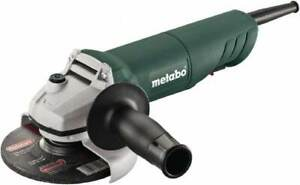 Metabo 4 1 2 Wheel Diam 11 000 Rpm Corded Angle Disc Grinder 5 8 11 Spin
