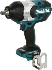 Makita 1 2 Drive 18 Volt T handle Cordless Impact Wrench Ratchet 1 700 Rpm