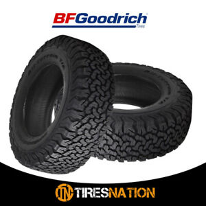 2 New Bf Goodrich All Terrain T A Ko2 Lt295 55r20 10 Tires