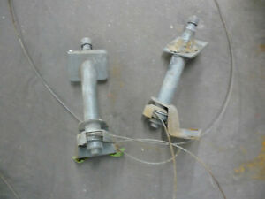 Corvette 1956 1957 Windshield Wiper Transmissions Left Right Cables