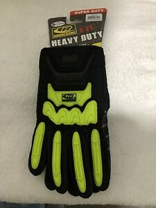 Ringers Gloves R 21 Heavy Duty X large New Hi vis Tpr Dorsal Impact Protection