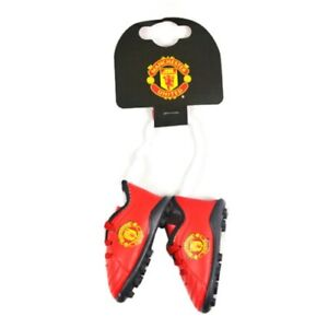 Manchester United F C Boot Car Hanger Shoe Mirror Fan Gift Official Licensed