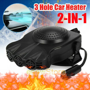 Universal 12v 24v Car Truck Heater Warmer Heating Fan Window Defroster Demister