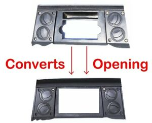 New Radio Stereo Double Din Dash Install Kit Bezel Fits 2006 2007 Jeep Commander