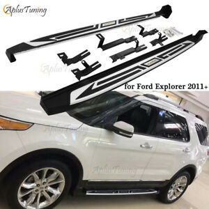 Fit For Ford Explorer 2011 2019 Running Boards Side Steps Iboard