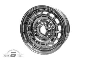 New Set Of 14 1960 1985 Mercedes Benz Old Style Chrome Rims
