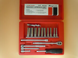 Snap On Tools Socket Set 1 4 Inch Drive